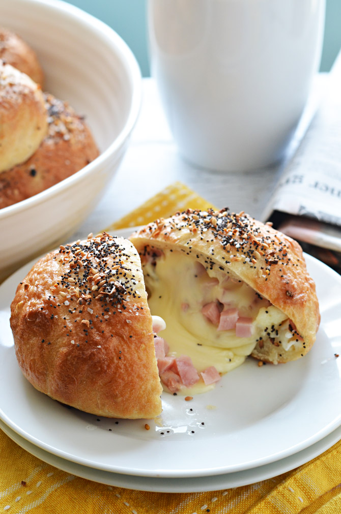 Freezer-Friendly Bagel Bombs