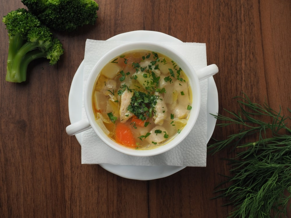 Keto Chicken Soup Instant Pot
